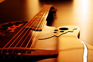 Картинки Крупным планом Гитара