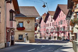 Фото Здания Дороги Австрия Улица Matrei am Brenner город