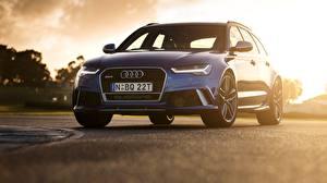 Фото Audi Универсал 2015 RS 6 Avant AU-spec Автомобили