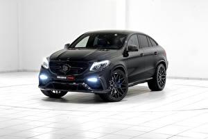 Картинка Mercedes-Benz Brabus Черный Brabus GLE-Class C292