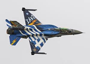 Обои Самолеты Истребители F-16C Fighting Falcon Авиация фото