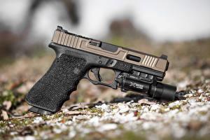 Обои Пистолеты Крупным планом Glock Армия фото