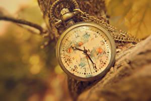 Фото Часы Карманные часы Вблизи