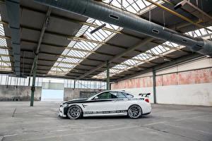 Обои БМВ Тюнинг Белый Сбоку 2016 Carbonfiber Dynamics M4R (F82) (BMW) Авто