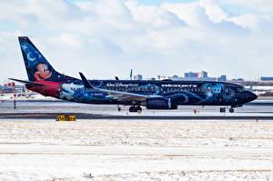 Обои Самолеты Пассажирские Самолеты Boeing 737-800 Авиация фото