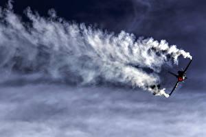 Обои Истребители Самолеты F-16AM Fighting Falcon Авиация фото