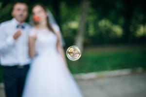 Фотографии Шар Свадьба Невеста Жених