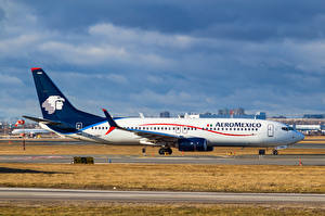 Обои Самолеты Пассажирские Самолеты Boeing 737-852(WL) Авиация фото