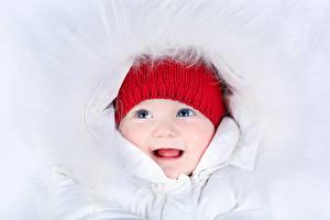 Фото Младенцы Лицо Улыбка Ребёнок