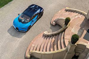 Обои BUGATTI Роскошные Сверху 2016 Chiron Автомобили фото