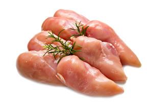 Картинка Мясные продукты Укроп Курятина