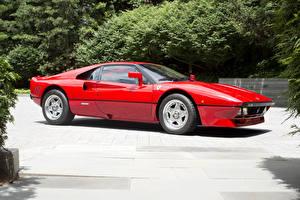 Фотографии Феррари Винтаж Красный Металлик 1984-85 GTO Pininfarina