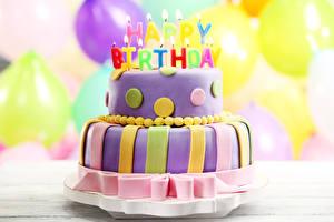 Фотографии Праздники День рождения Торты