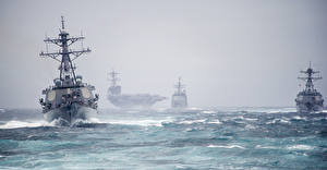 Фотографии Авианосец Океан Корабли USS George H. W. Bush (CVN-77)