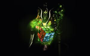 Фотография DOTA 2 Rubick Магия Игры Фэнтези