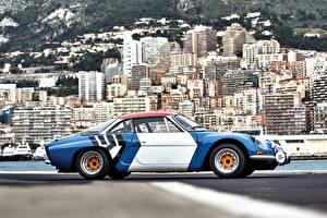 Фотографии Рено Ретро Стайлинг Сбоку 1973-77 Alpine A110 1800 Group 4