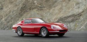 Картинка Феррари Красный 1965 Pininfarina 275 GTB