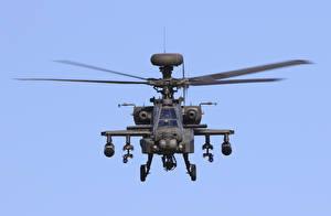 Обои Вертолеты AH-64D Apache Авиация фото