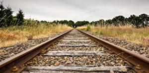 Фотография Железные дороги Рельсы