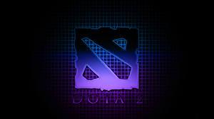 Обои DOTA 2 Логотип эмблема Игры фото