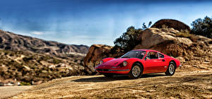Картинки Ferrari 1969 Dino 246 GT