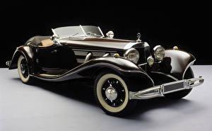 Фото Mercedes-Benz Старинные Кабриолет Родстер 1935-36 500K Roadster
