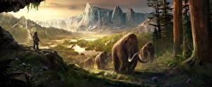 Обои Горы Природа