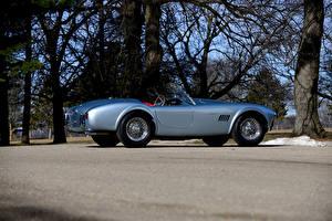 Обои Shelby Super Cars Старинные Серебряная Кабриолет 1964 Cobra 289 (CSX 2271) Машины