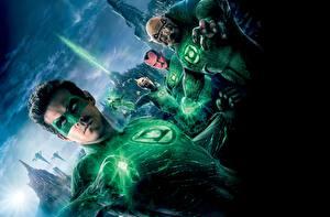 Фото Герои комиксов Райан Рейнольдс Green Lantern Фильмы