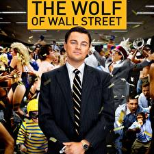 Картинки Волк с Уолл-стрит Леонардо Ди Каприо Классический костюм Фильмы