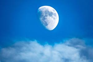 Фотография Небо Луной Космос