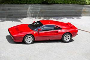Обои Феррари Винтаж Красный Металлик 1984-85 GTO Pininfarina Автомобили