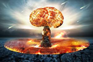 Фотография Взрывы nuclear bomb военные