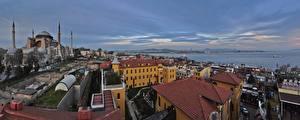Обои Дороги Турция Стамбул Города фото