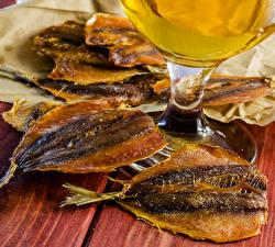 Фотографии Морепродукты Рыба Пища