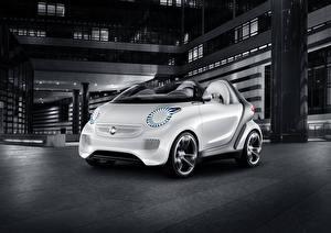Обои Smart Белых Forspeed Concept автомобиль