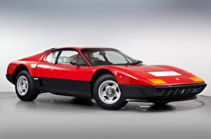 Картинка Феррари Ретро Красный Металлик 1976-81 512 BB Pininfarina