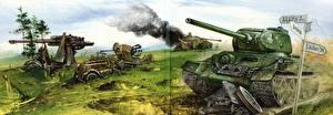Обои Т-34 Армия