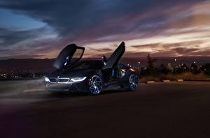 Фото BMW Ночь i8 Aristo Collection SS машина