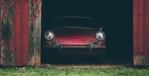 Картинки Порше Спереди 911S Машины