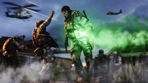 Обои Battlefield 4 Солдаты Мужчины Негр Игры 3D_Графика фото