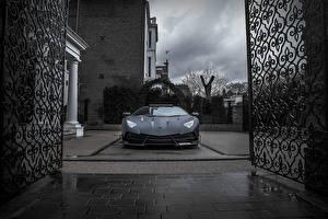 Картинка Lamborghini Черный Mansory Aventador