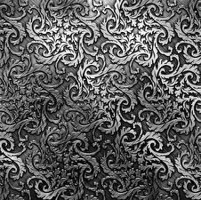 Фотографии Орнамент Текстура Металлический