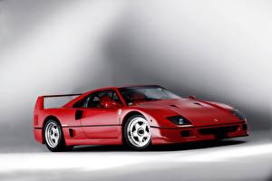 Обои Ferrari Красный 1989 F40