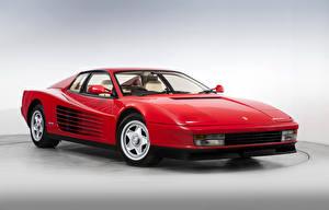 Фотография Ferrari Ретро Красный 1987-91 Testarossa Pininfarina