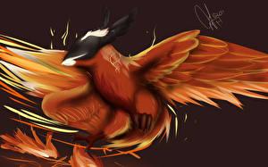 Фотография DOTA 2 Птицы Феникс Феникс Игры