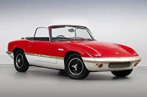 Фотографии Lotus Винтаж Красный Металлик Кабриолет 1971-73 Elan Sprint Drophead Coupe машина