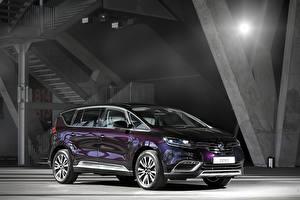 Обои Renault Фиолетовый Металлик 2015 Espace Initiale Paris