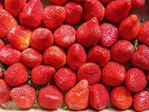 Фото Клубника Много Красный Еда