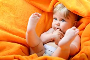 Фотографии Грудной ребёнок Ноги Пятка ребёнок
